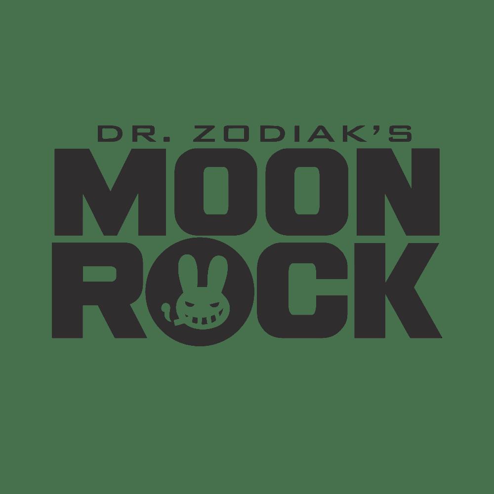 Dr. Zodiak's Moon Rock Logo
